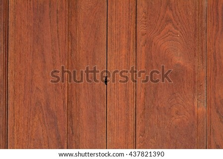Background of old vintage oriental style wood door panels texture background