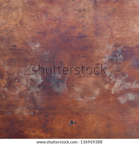 Background of old wood table texture, for design - stock photo