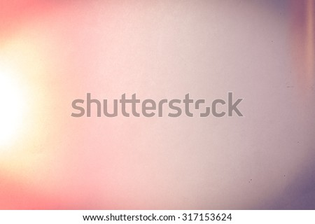Background of Paper Show patterns ,old photo background with light leaks - stock photo