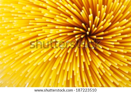 Background of pasta closeup - stock photo