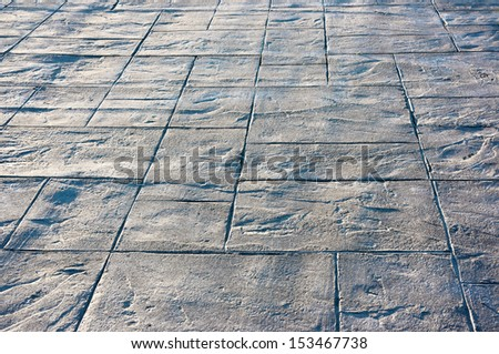 background of pavement with textures - stock photo