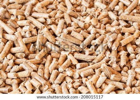 background of pellets, environmentally friendly fuel made �¢??�¢??from natural wood