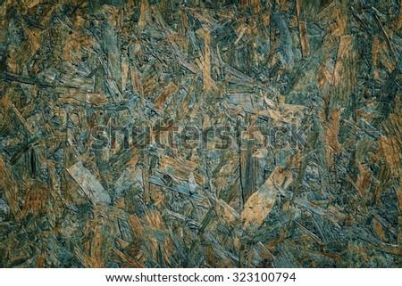 Background of Pressed Wood Shavings - stock photo