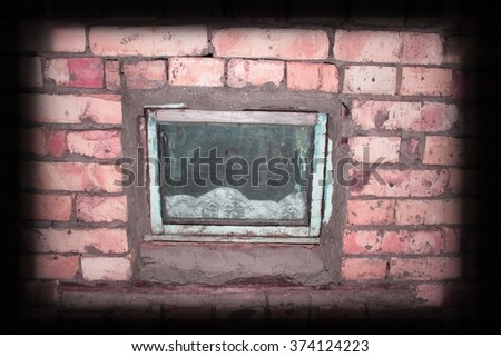 Background of red brick wall texture. Great for labels