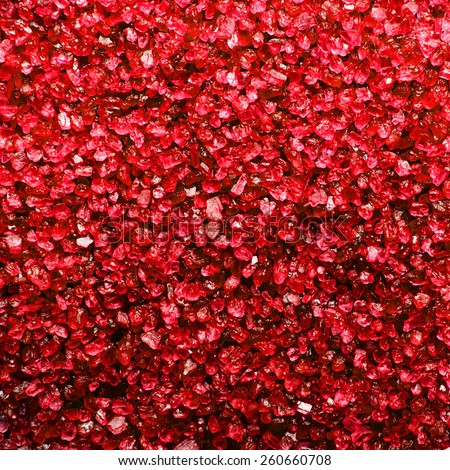 Background of red crystal - stock photo