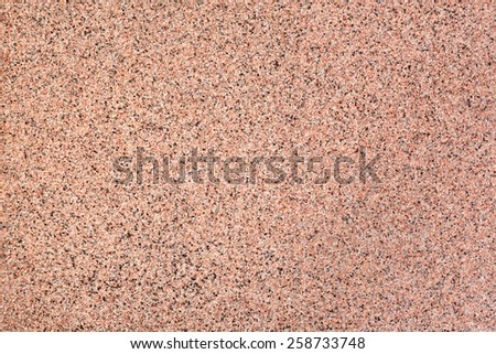 Background of red river sand. Sand texture. - stock photo