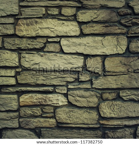 Background of rock wall texture - stock photo