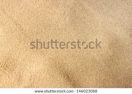 background of sand
