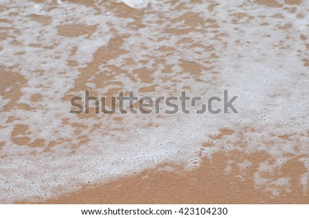 background of sea and sand