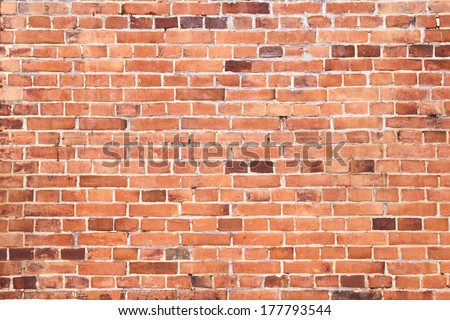 background of seamless brickwall texture - stock photo