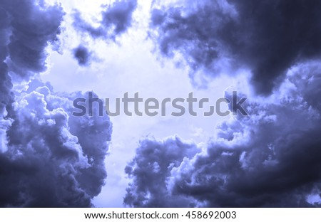 background of soft clouds fairytale mysterious atmosphere