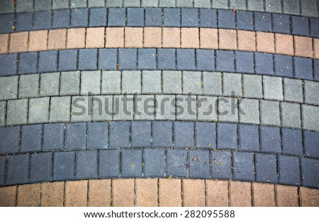 Background of stone floor texture