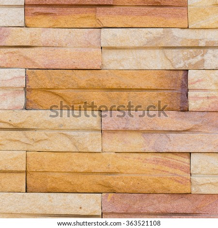 Background of stone wall made with blocks.