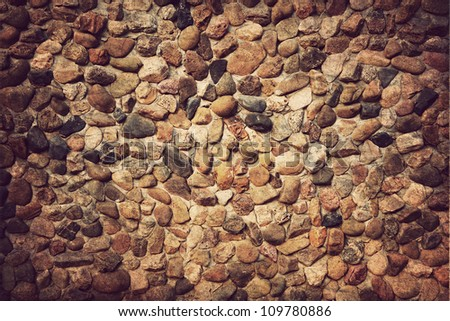 Background of stone wall texture ,Vintage style