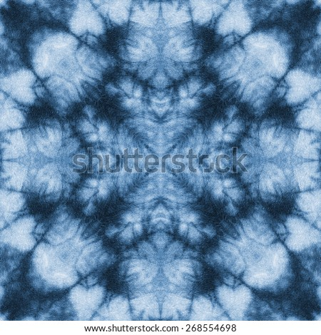 Background of Thai style fabric pattern  - stock photo