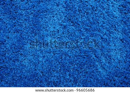 Background of the blue carpet - stock photo