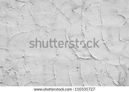 Background of the cement wall is plaster rough style