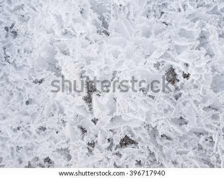 Background of the ice surface