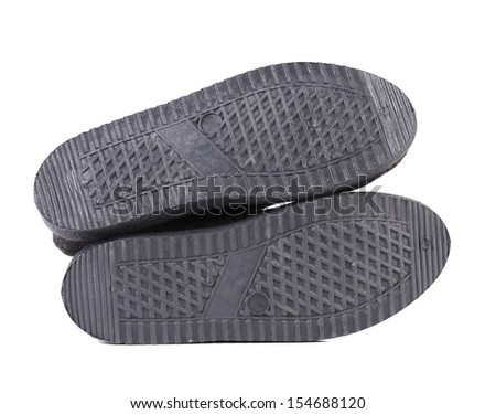Background of the rubber soles. Close up. - stock photo
