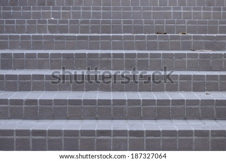 Background of the walkway stairs - stock photo