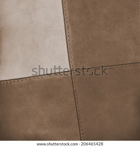 background of two-tone leather