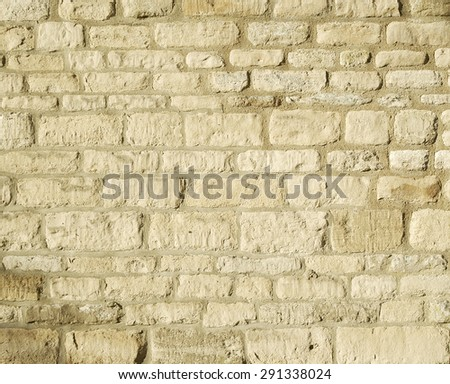 Background of vintage brick wall texture  - stock photo