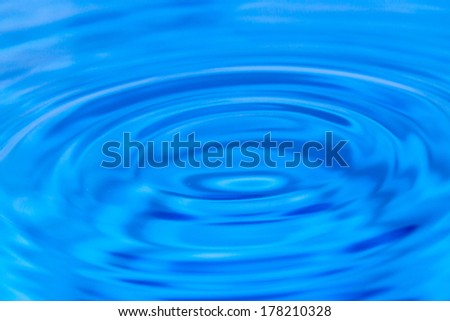Background of water circles