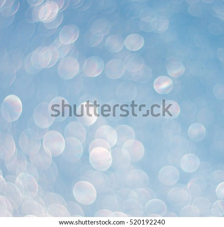 Background of water drops illuminated with light