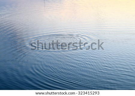 background of water splash in lake