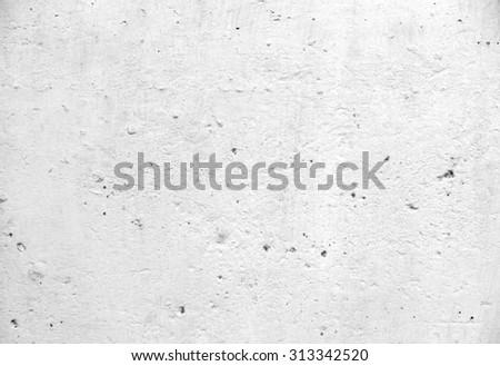 Background of white concrete texture - stock photo
