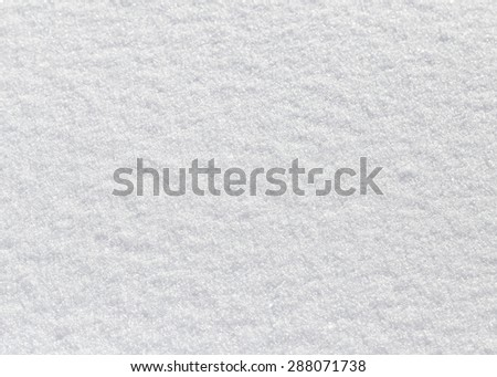 background of white fluffy snow - stock photo