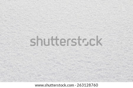 background of white snow - stock photo
