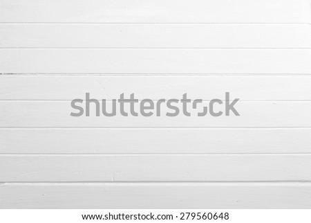 background of white wooden planks - stock photo