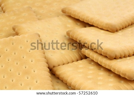 background of wholemeal cookies