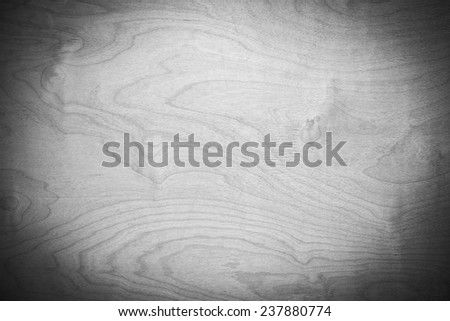 Background of wood texture. gray tone, applied vignetting - stock photo