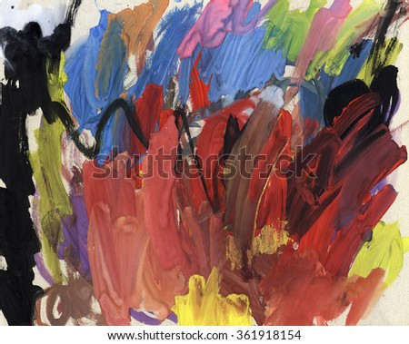 Background oil acrylic paint, paint stains texture background for design sketch sketch abstract painting
