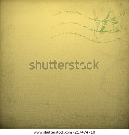 background old notepaper - stock photo