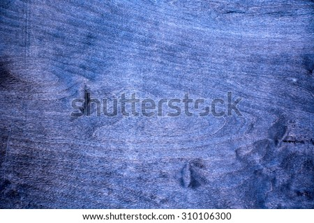 Background. Old, vintage, blue plywood - stock photo