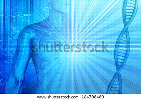 background on the medical theme for your design - stock photo