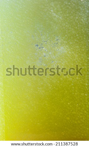 Background or texture Air bubbles in water - stock photo