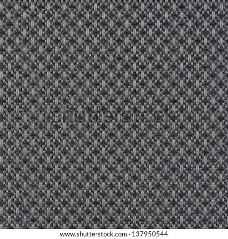 Background or texture of black fabric closeup - stock photo
