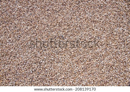 Background or texture of pebbles or gravel  - stock photo