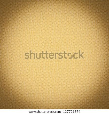 Background or texture of yellow fiber closeup