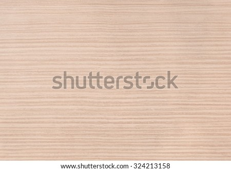 Background Pattern, Light Brown Horizontal Wooden Grain Texture with Copy Space for Text Decorated.