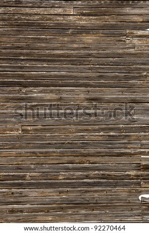 Background picture made of old wood boards - stock photo