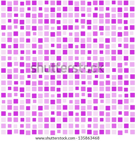 Background pink lilac purple mosaic - stock photo
