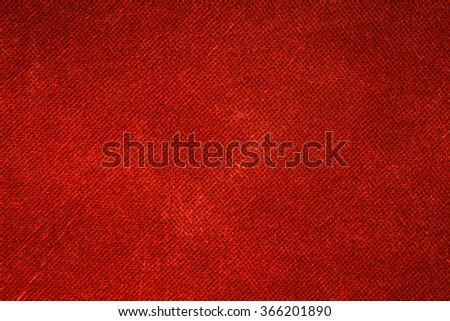 Background red canvas - stock photo