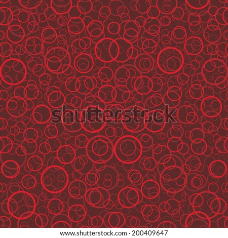 background, seamless pattern with red elements, geometric design, illustration