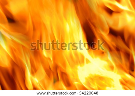 Background Series: Flame of texture background closeup
