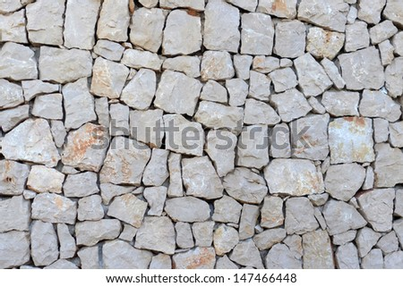Background - Stacked Stone Wall